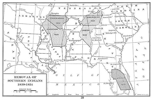 Supreme court issues Cherokee Nation V Georgia Decision