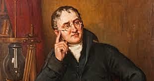 John Dalton formulated the first modern description of an atom.