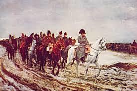 Napoleon attacks Russia