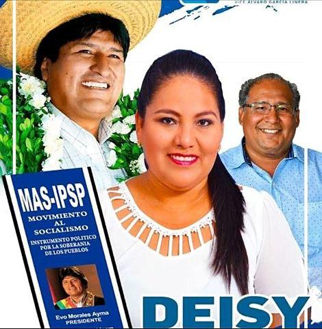 La mujer señalada como autora intelectual de las muertes en Montero es diputada electa por el MAS
