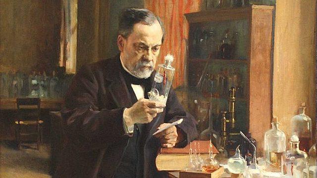 Luis Pasteur y microbios