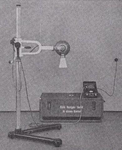 Primeros rayos X odontológicos