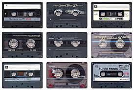 20 dispositivos de almacenamiento cassette