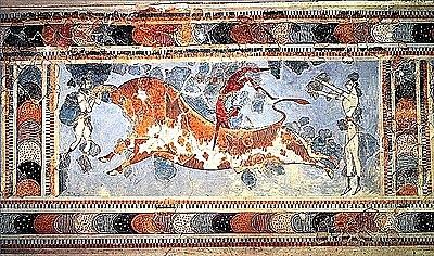 Símbolos Gráficos del Arte Minoico