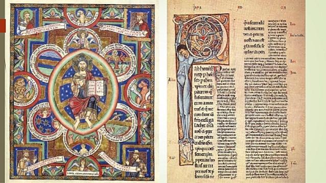 Manuscrito Romántico y Gótico
