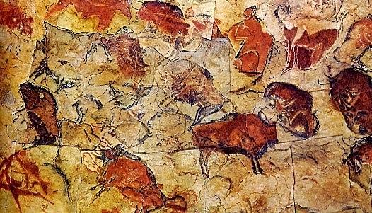 Pintura en cavernas.
