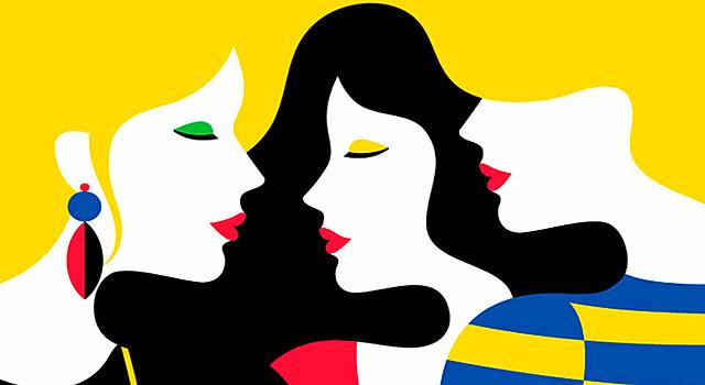 Papel de las mujeres en el diseño gráfico.