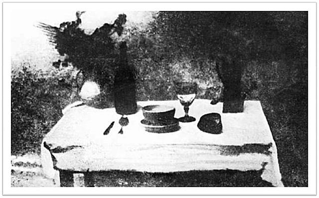Joseph N. Niepce obtiene la primera fotografía permanente.