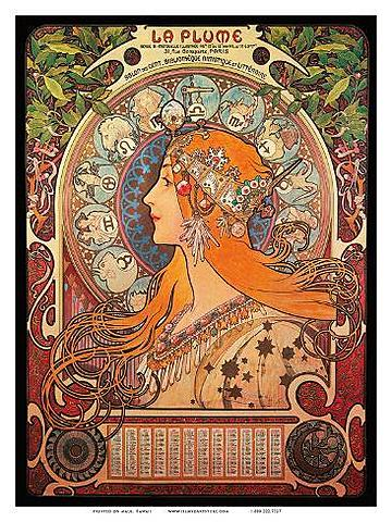 Nace movimiento artistico Art Nouveau