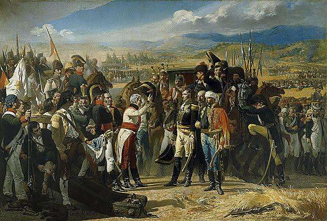 1805 Aliança entre la França napoleònica i l'Espanya borbònica contra Gran Bretanya.