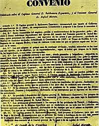 Fi de la 1ª Carlinada  // Abrazo de Vergara (1839)