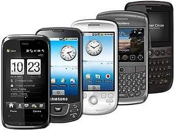 Teléfonos inteligentes 9