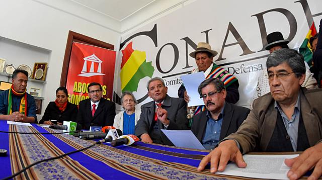 Conade presenta pruebas del presunto fraude y los entregarán a OEA