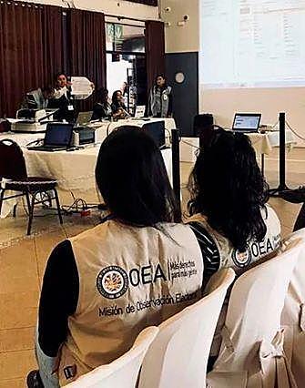 OEA llama a la calma y pide esperar la auditoría