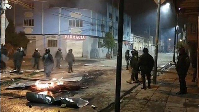Graves enfrentamientos en El Alto tras la llegada de Camacho