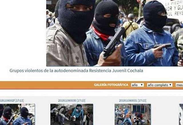 Medios estatales difunden fotos de Venezuela y las atribuyen a Bolivia