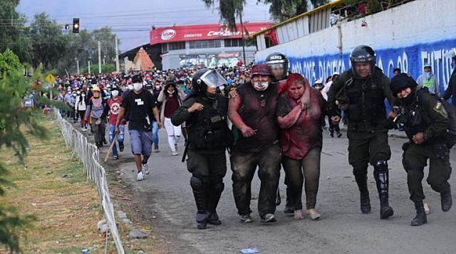 Videos del racismo, discriminación y violencia vividas en Cochabamba y La Paz