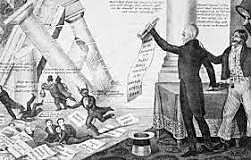 Andrew Jackson vetoes the Maysville Road Bill