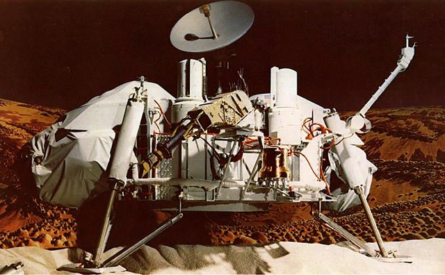 Viking 1 Lands on Mars