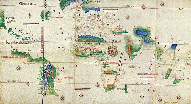 Tratado de Tordesillas.