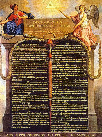 Presa de la Bastilla i Declaració dels Drets de l'Home i el Ciutdà.