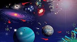 La formación del universo y sus teorías timeline