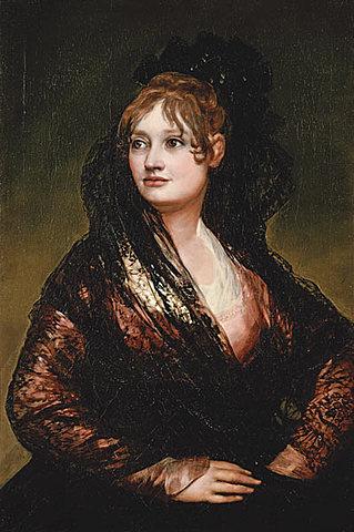 """GOYA: """"Doña Isabel De Porcel"""" a la cort."""