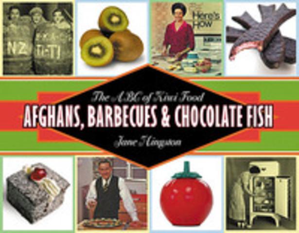 kiwi food: Afgans, BBQ's and chocolate fish