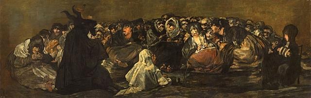 """GOYA: """"El Aquelarre"""" o """"El Gran Cabrón"""" pintures negres"""