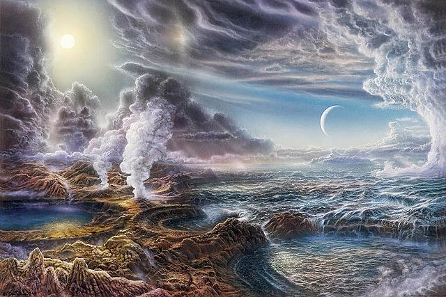 2  parte de las características de la tierra primitiva