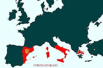 La corona d'Aragó s'uneix amb l'Arxiduc Carles