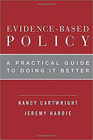"""Wrote """"Evidence Based Policy: A Practical Guide to Doing It Better"""", with Jeremy Hardie"""