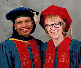 Earned Honorary Degree. Doctor of Humane Letters, honors causa, Southern Methodist University, Dallas TX