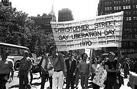 The Gay Liberation March