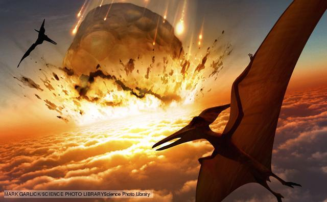 (65 mya) Cretaceous extinction