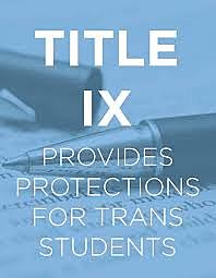 Protection for Transgender Students Under Title IX
