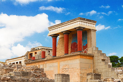 boom of Minoan culture