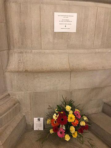 Matthew Shepard -- Rest in Peace