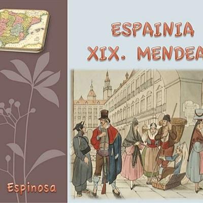 XIX. MENDEA ESPAINIAN timeline