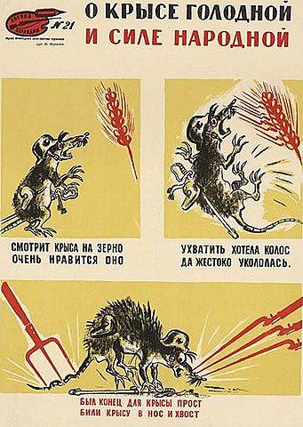 О крысе голодной и силе народной