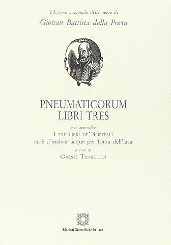 """Libro """"Pneumaticorum libri tres:..."""""""