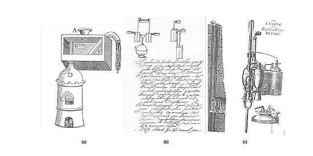 El primer registro de Bomba de agua (vapor)