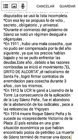 Saenz Peña Pt2