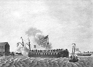 """El primer barco de guerra """"Demologos"""""""