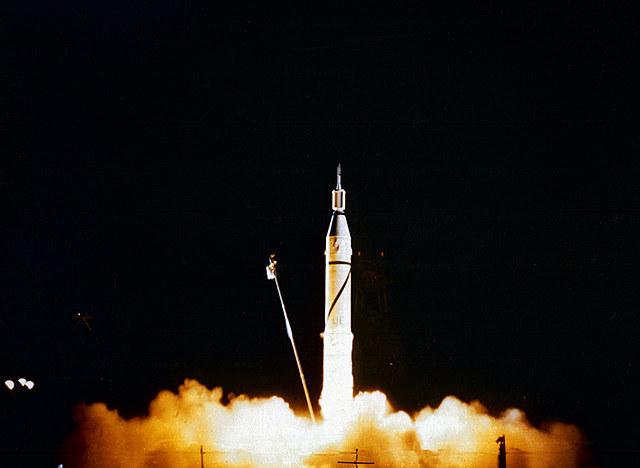 US launches Explorer 1