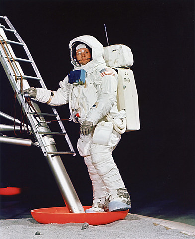Neil Armstrong-The first man to walk on the moon