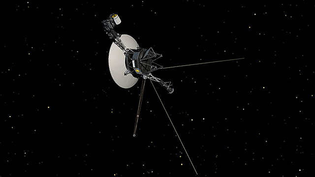 Voyager 1 and 2 deep space project launched