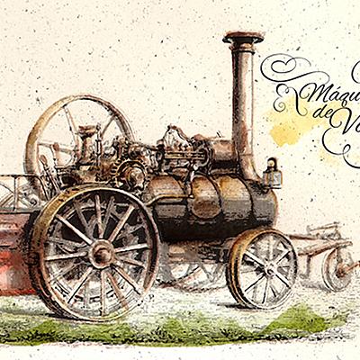 Máquina de vapor (100 -1884) timeline