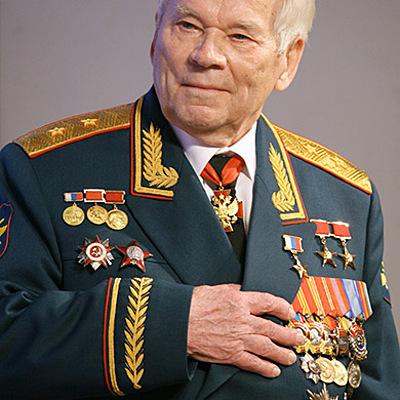 Михаил Тимофеевич Калашников timeline