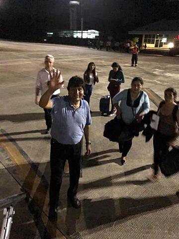 Morales logra el asilo en México y se va